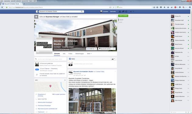 Newadon Facebook Bauwerk
