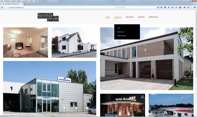 Newadon Website Bauwerk