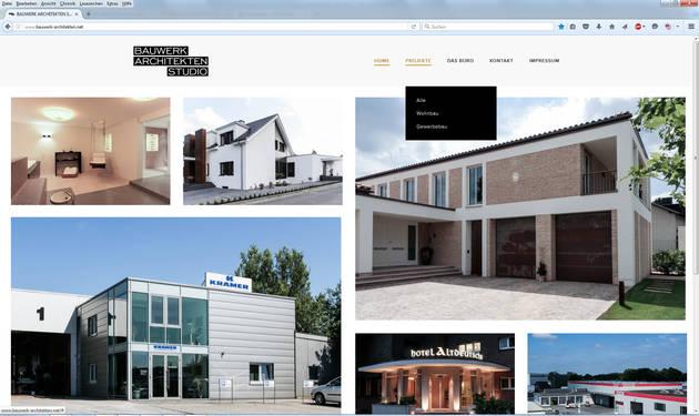 Newadon Website Bauwerk